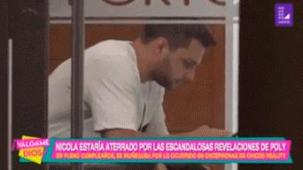 Nicola Porcella tras denuncia de Poly Ávila