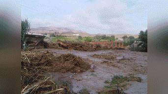 Huaicos a afectado a viviendas, infraestructura vial, productiva y de servicios. Fotos: Rufino Mota