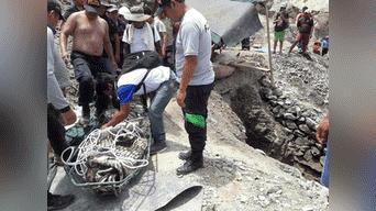 Varias personas fueron afectadas por el huaico en la región de Moquegua. Foto: Rufino Mota