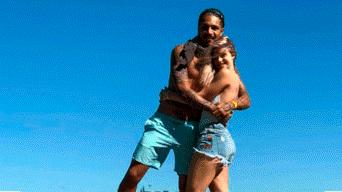 Paolo Guerrero y Thaísa Leal