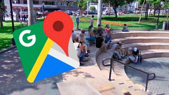 Google Maps: recorre el Parque Kennedy en Miraflores y encuentra a su abuelo en curiosa situación