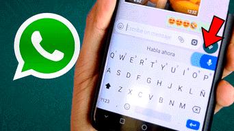 WhatsApp tiene un truco para que escribas un mensaje sin necesidad de 'teclearlo'