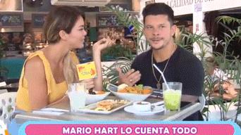 Sheyla Rojas y Mario Hart