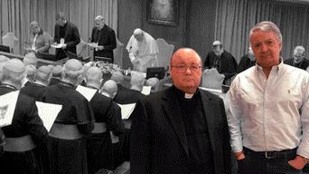Pedro Salinas en el Vaticano