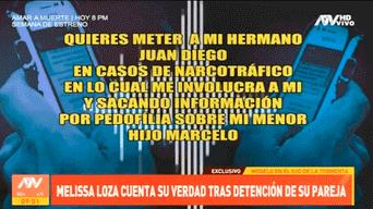 Melissa Loza, Juan Diego Álvarez