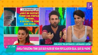 Leonar León, Olenka Cuba, 'Válgame Dios', Rodrigo González