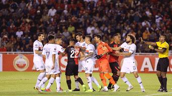 RIVAL. Ambos equipos se hicieron daño, pero San Lorenzo tuvo mas chances de gol