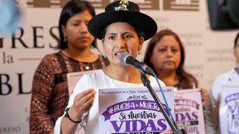 Día de la Mujer, Congreso