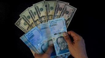 Dólares a bolívares soberanos.