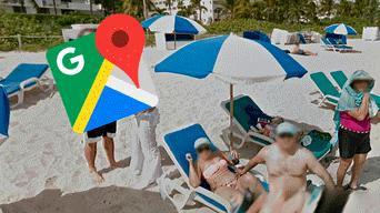 Google Maps: creyó ver a mujer 'toqueteando' a bañista, hace zoom y descubre inesperada verdad