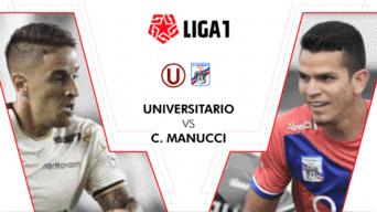 Universitario vs Mannucci