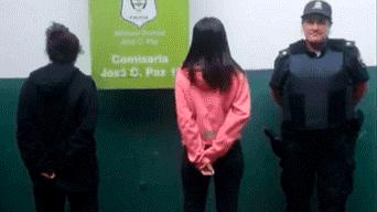 Paola Cordova detenida