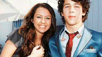 Miley Cyrus y Nick Jonas
