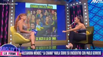 Alexandra Méndez y Christian Cueva