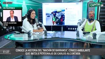Carlos Alcántara 'Machín', Radio Capital, Pataclaun