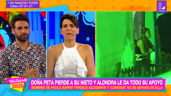 Alondra García Miró y Paolo Guerrero
