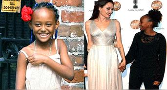 Angelina Jolie, Brad Pitt y Zahara