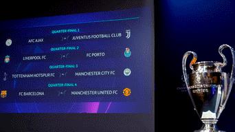 Sorteo Champions League: Estos son los cruces por los cuartos de ...