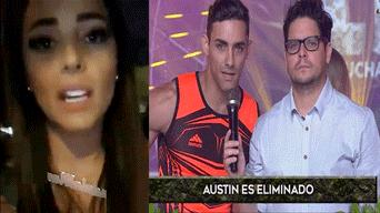 Austin Palao, Esto es Guerra, eliminado, Luciana Fuster, Emilio Jaime, producción EEG
