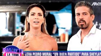 Sheyla Rojas, Pedro Moral