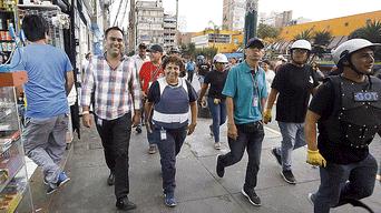 Jorge Muñoz, George Forsyth, Gamarra, La Victoria, Susel Paredes