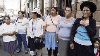 Ejército peruano, Huancavelica, violación
