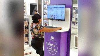 8a3316c908 Facebook viral  joven capta a peruana revisando su FB en PC de ...