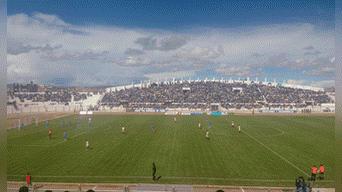 Como es de costumbre, Binacional jugó a estadio lleno.
