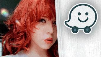 Facebook viral: chica pelirroja imita la voz de 'Waze' y genera asombro en miles de usuarios