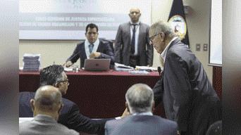 El juez, Jorge Chavez Tamariz,suspende la audiencia de prisión preventiva contra Pedro Pablo Kuzcynski para mañana a las 9 am Foto: Michael Ramón