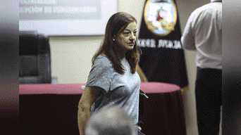 Secretaria de PPK, Gloria Kisic, queda en libertad tras la aceptación de la apelación a la detención preliminar Foto: Michael Ramón