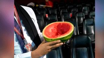 Facebook: tras función de Avengers Endgame encuentran residuo de gigantesca fruta