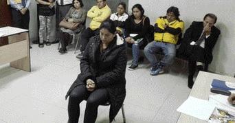 Agente de la PNP deberá concurrir cada 30 días a la oficina de control biométrico para ser registrada. (Foto: CSJ de Lima).