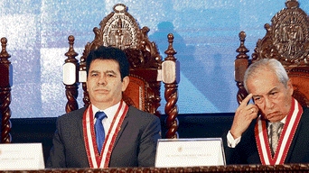Pedro Chávarry, Tomás Gálvez, Crimen desorganizado, Los Cuellos Blancos
