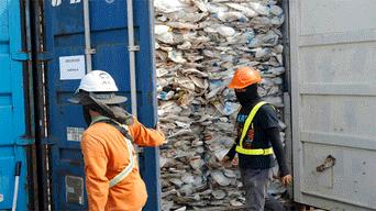 basura en Malasia