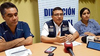 Gestión. Autoridades de Dirección de Salud de Piura solicitan declarar emergencia.