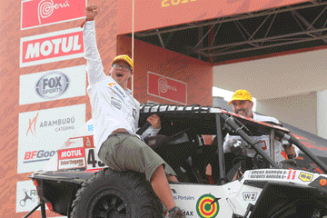 Dakar 2019: Lucas Barrón se reenganchará en la segunda semana del rally