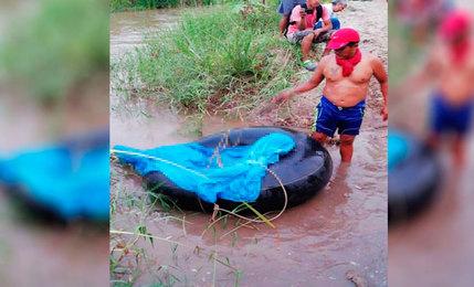 Encuentran cuerpo de adolescente en aguas del río Utcubamba