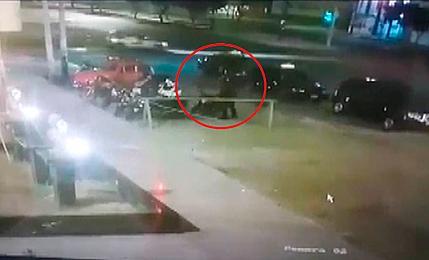 Áncash: roban motocicleta de un policía en el frontis de Comisaría en Nuevo Chimbote
