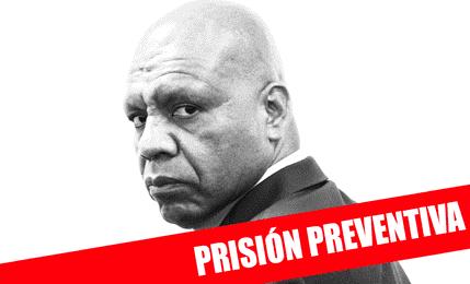 Dictan 36 meses de prisión preventiva contra Mejía Lecca