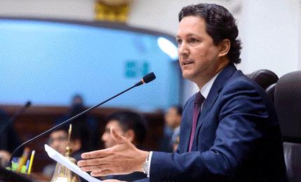 Daniel Salaverry: reformas de justicia están en la agenda del Pleno
