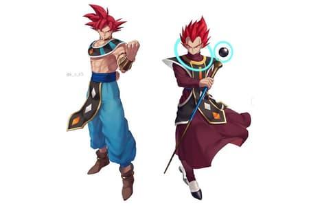 dddceff56460 Dragon Ball Super  filtran primeras imágenes de Gokú como dios de la  destrucción y Vegeta como ángel