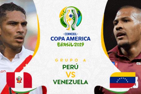 Quién ganó Perú vs Venezuela por el Grupo A de la Copa América 2019 ...