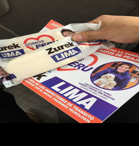 Elecciones 2018: acusan a Zurek de repartir alimentos a pocas horas del debate [VIDEO]