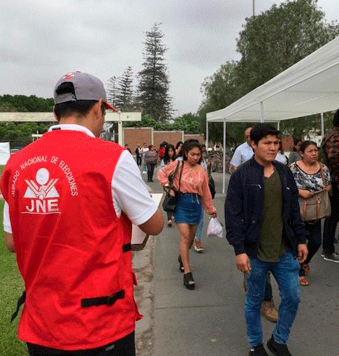 JNE detectó 55 incidencias durante Referéndum 2018
