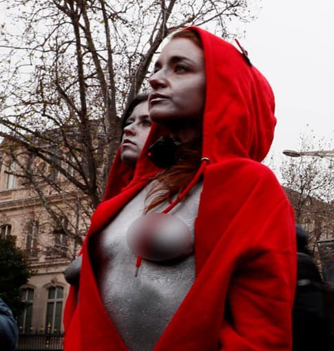 Francia: más de 100 'chalecos amarillos' fueron detenidos en París