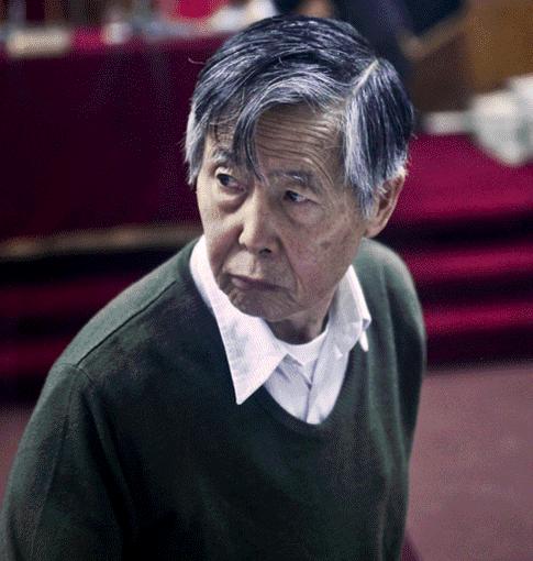 Informe médico determina que Alberto Fujimori