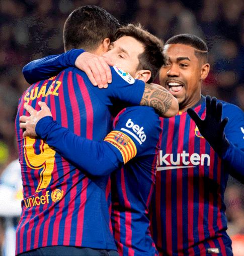 Con golazo de Messi en el final, Barcelona venció 3-1 al Leganés por LaLiga
