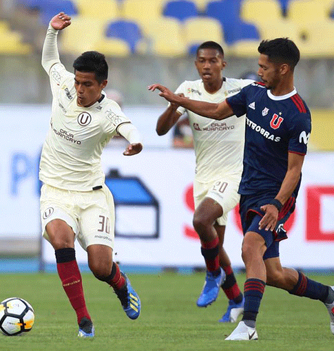 Universitario cayó 2-1 ante U. de Chile en amistoso internacional
