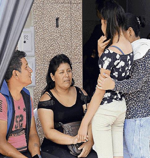 """Raquel Huamanchumo: """"Le dije que no traiga el arma, pero no hizo caso"""""""